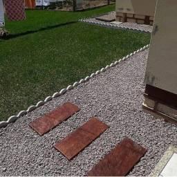 meio fio para jardim, guia 2 em 1 ondulado e reto de concreto industrial