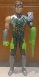 Boneco Max Steel Gigante - 45 Cm De Altura