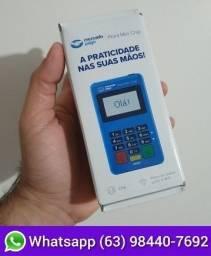 Título do anúncio: Máquina de cartão Point Mini Chip Nova Lacrada