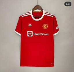 Título do anúncio: Camisa Manchester United 2021 #7 Cristiano Ronaldo
