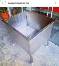Tanque Industrial pronta entrega fabricante Ideal Inox