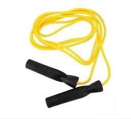 Título do anúncio: Corda Pular Com Rolamento Amarela Boxe Everlast -ep16