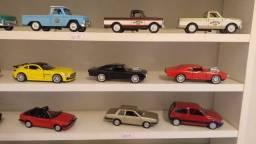 Miniaturas de carros coleção