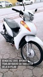 Título do anúncio: Vendo Biz 2015 100cc