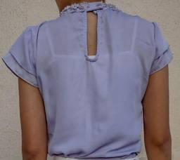 Blusa  lavanda