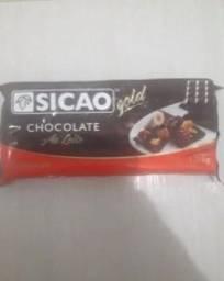 Título do anúncio: Barras de chocolate ao leite não é fracionada