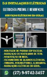 Eletricista Predial e Residêncial