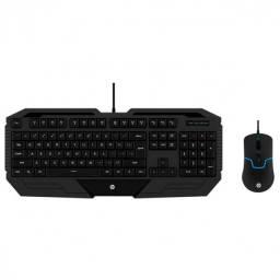 kit teclado e mouse usb gamer gk1000 preto