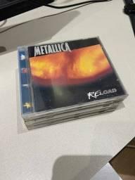 Título do anúncio: Coleção de 5 CDs Metallica