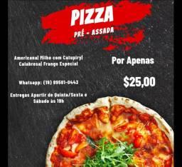 Pizza Delivery Pré Assada