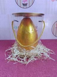 Ovos de Páscoa, ovos de colher, kits com ovinhos, cestas de chocolate e guloseimas