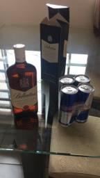 Título do anúncio: Whisky Ballantines Finest + 4 red bulls