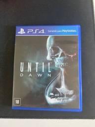 Título do anúncio: Until Dawn PS4