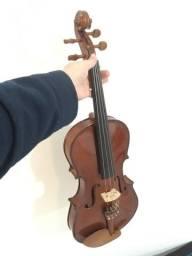 Viola de arco clássica Eagle VA 150 4/4 Semi nova Impecável