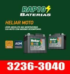 Baterias Heliar 5 AH e 6 AH mots