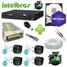 Camera instalada Intelbras