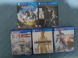 Título do anúncio: Troco ou vendo jogos de PS4