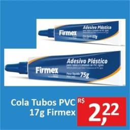 Cola Tubos PVC 17g - Firmex - Promoção R$ 2,22