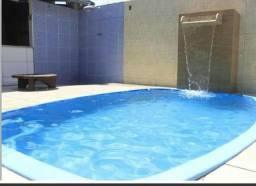 Casa B. Cidade Nova, 3 qts/suíte. K076, 205 m², quintal/jardim, piscina. Valor 495 mil