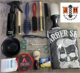 Título do anúncio: Kit Barbeiro Iniciante/ material de 1a Qualidade / somos loja física do barbeiro