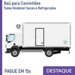 Título do anúncio: Baú Refrigerado e Baú Seco para Caminhão novo e seminovo Modelo: B 337