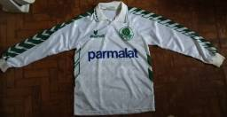 Camisa Palmeiras Manga Longa (M) 94/95 ORIGINAL Rhumel