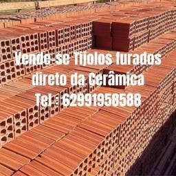 Vendo carga de tijolos furados o melhor do Brasil.