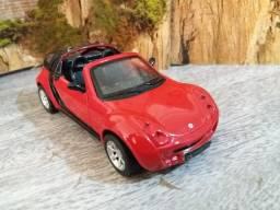 Miniatura Carro Smart Roadster Coupé - 1/31 (11cm)
