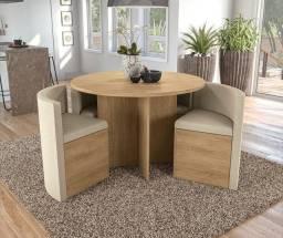 Sala mesa 4 cadeiras ZAP *
