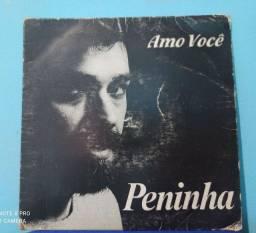 Título do anúncio: Disco Original usado Compacto Vinil Amo você Peninha