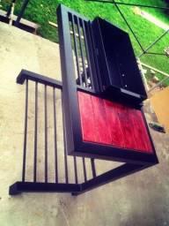 Título do anúncio: Arte metal serralheria móveis decoração portão grades em geral