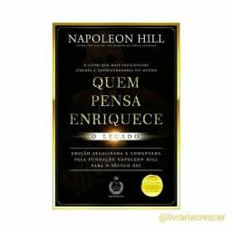 Título do anúncio: Quem Pensa Enriquece O legado em Super Promoção Napoleon Hill