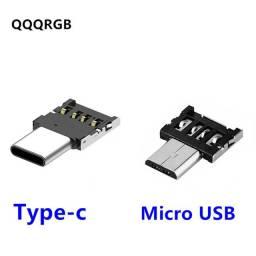 Adaptador Conversor Micro Usb Otg ou Tipo C para Android  Wpp: *