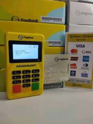 Título do anúncio: Maquininha de cartaõ ! Minizinha NFC bluetooth- leitor de cartão