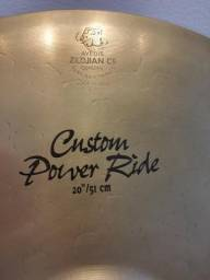 "Raridade - Zildjian Power Ride 20"""