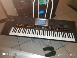 Vende um teclado