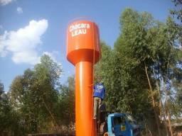 Reservatórios de água potável em aço carbono