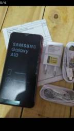 "Smartphone Samsung Galaxy A10 Novo Dual Chip 6.2"" 32GB/2GB Octa-Core, Nota fiscal"