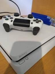 PS4 SLIM 500 GB BRANCO + 3 jogos