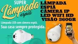 Lâmpada Espiã- Super Lâmpada de monitoramento câmera via WIFI segurança total