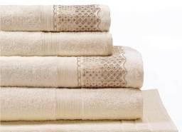 Jogo de toalha 5 peças algodão egípcio