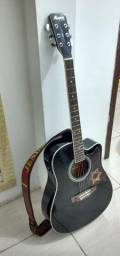 Troco esse violão por um de nylon elétrico