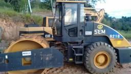 """Rolo compactador """"SEM Caterpillar"""" 8218 liso com kit pata ano 2013 500 horas n volvo jcb"""