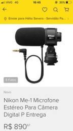 Microfone Externo Nikon ME-1 - oportunidade