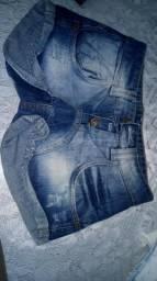 Shorts usados e bolsa