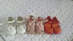 Calçados infantil número 18