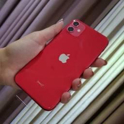 Iphone 11 - Product RED - NOVO - (12 vezes no cartão)