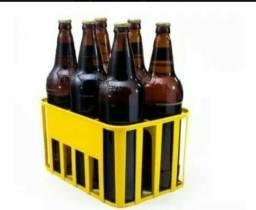 Garrafas vazias 0,50 de cerveja Litrão