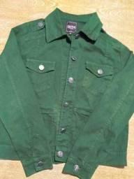 Jaqueta verde militar da marca Contatho