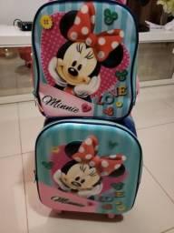 Kit bolsa escolar Minnie